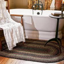 enigma black grey cotton braided rugs