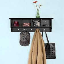 Coat Rack With Storage Shelves Unique Haotian Wall ShelvesWall RackWall Cabinets WallMounted Cabinets