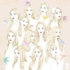Loona With Red Velvet Ice Cream Cake Style Kpop Kpop