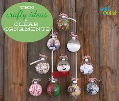 Decorating Christmas Ornaments Balls 100 Crafty Ideas for Clear Ornaments Craft Outlet inspiration 89