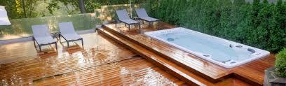 hot tub deck. Designing Your Perfect Hot Tub Deck