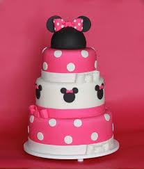 Minnie Mouse Birthday Cake Fomanda Gasa