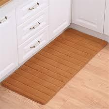memory foam bathroom rugs carpets for living room bedroom non slip kitchen area rug water absorption doormat bedside mats khaki 50x80cm joomk0z3w
