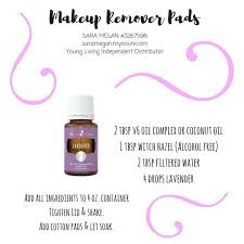 makeup remover pads with young living essential oils sara megan 3267596 young living independent distributor saramegan myoilsite com