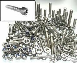 <b>Stainless Steel</b> Bolts +Nuts & Washers Mini-moto <b>Mini</b>-<b>bike</b> Monkey ...