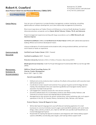 ... Scrum Master Resume 17 Robert K Crawford ...