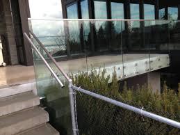 Glass Railing Price Stair Railings Exterior Gl Design Ideas