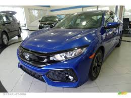 Aegean Blue Metallic Honda Civic