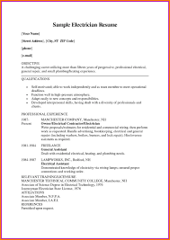 9 Electrician Resume Sample Doc Dragon Fire Defense