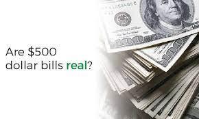 u s 500 dollar bills do exist 500