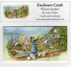flower garden enclosure cards
