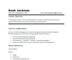 Resume Objective Examples Impressive Job Resume Objective Examples Skills For Any Corner Utmostus