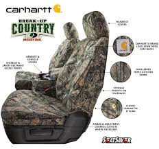 carhartt camo pickup truck seat covers