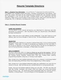 Certified Nursing Assistant Resume Objective Examples Resume For A