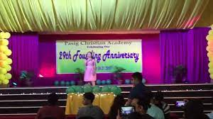 Ma'am Aida Galicia's Performance during MR & MS SUNBEAM (Pasig Christian  Academy) 2017 - YouTube