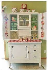cosy kitchen hutch cabinets marvelous inspiration. Hoosier Kitchen Cabinet Doesnu0027t That Clock Above The Look Familiar Cosy Hutch Cabinets Marvelous Inspiration A