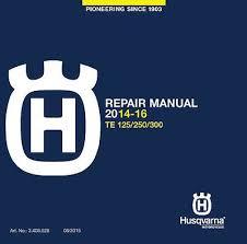 husaberg te 300 2017 service manual