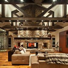 two way fireplace home design ideas pictures remodel and