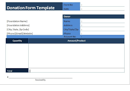 Sample Donation Form Get Donation Form Template Sample Word Sample Templates