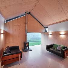 the mill by wt architecture located in rural southern scotland the interior features walls
