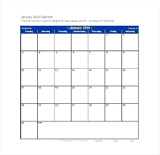 Blank Monthly Calendar Template Word Beauteous Excel Vacation Calendar Template Month Printable Schedule Templates