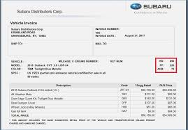 Subaru Invoice Price Vs Msrp Archives Hashtag Bg