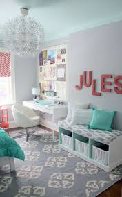 Jules' Fresh Mint & Coral Tween Room