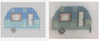 How To Make A Cross Stitch Pattern Enchanting Make Your Own Cross Stitch Charts Using Excel CrossStitch