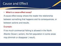 cause and effect essay topics logical pattern for a writing cause and effect essays topics