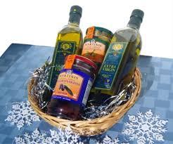 gift basket olive oil olives