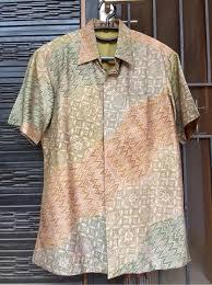 Jual beli online aman dan nyaman hanya di tokopedia. Terjual Kemeja Batik Pria Sutra Tenun Ori Merk Aksen Tropis Pembelian Grand Indonesia Kaskus