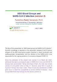 pdf abo blood groups and sars 2