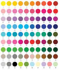 Colour Chart Pinnacle Invitations