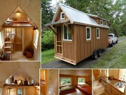tiny house plan 3d design with one bedroom