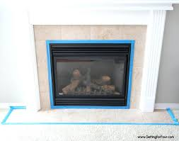 tiles for fireplaces how to paint tile in 3 easy steps and how to tape out
