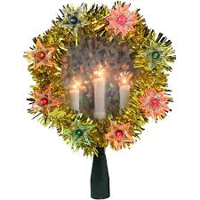 Green Tinsel Wreath With Twinkling Lights Christmas Candle Wreath Door Wreaths With Decorative Candles