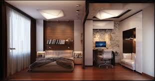 Modern Mens Bedroom Mens Bedroom With White And Wooden Combination In Modern Look And