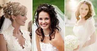 Svadobné účesy So Závojom Na Poschodí Svadobné účesy Pre Dlhé