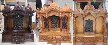 Pooja Mandir Designs For Home In Hyderabad Wooden Temple Buy Wooden Temples And Wooden Mandir Online