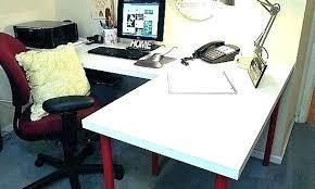 office desk ikea. White L Shaped Desk Ikea Office Glass Table Top Inside .