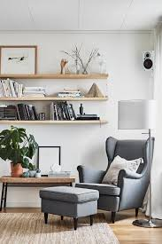 bringing new life to an old favorite the ikea strandmon wing chair has the same craftsmanship comfort and appearance 60 years later