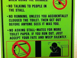 bathroom etiquette signs public bathroom etiquette signs bathroom edicate signs bathroom etiquette signs
