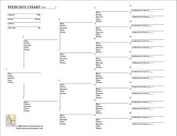 Family Tree Flow Chart Dog Pedigree Chart Template Dog Family Tree Template Free Dog Family