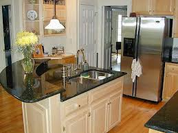 For Kitchen Islands In Small Kitchens Kitchen Practical Kitchen Island In Oval Shape With Bookshelf In