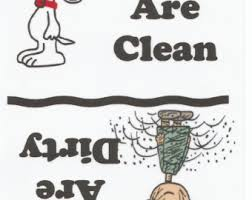clean refrigerator clipart. snoopy, pig pen, dishes are clean, dirty, refrigerator magnet new clean clipart a