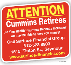 At blasko & cummins insurance services, we are committed to providing you the best insurance services. Attention Cummins Retirees Surface Financial Group Seymour In