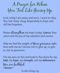 When You Feel Like Giving Up Quotes Gorgeous 48 Bible Verses And A Prayer For When You Feel Like Giving Up