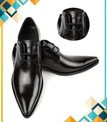 product details of black stylish formal shoes for men