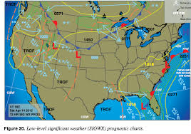 On Sigwx Significant Weather Charts What Does Mean
