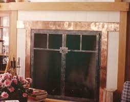 craftsman style fireplace screens craftsman style fireplace screens image of imagehouse co pleasant hearth mission style 3 panel fireplace screen